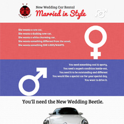 Wedding Beetle Rental